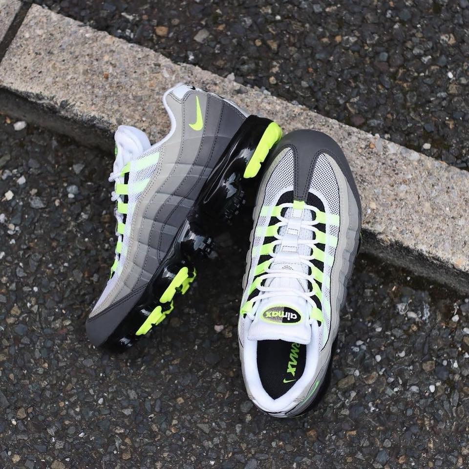 sale retailer ad582 fb086 Now Available  Nike Air VaporMax 95