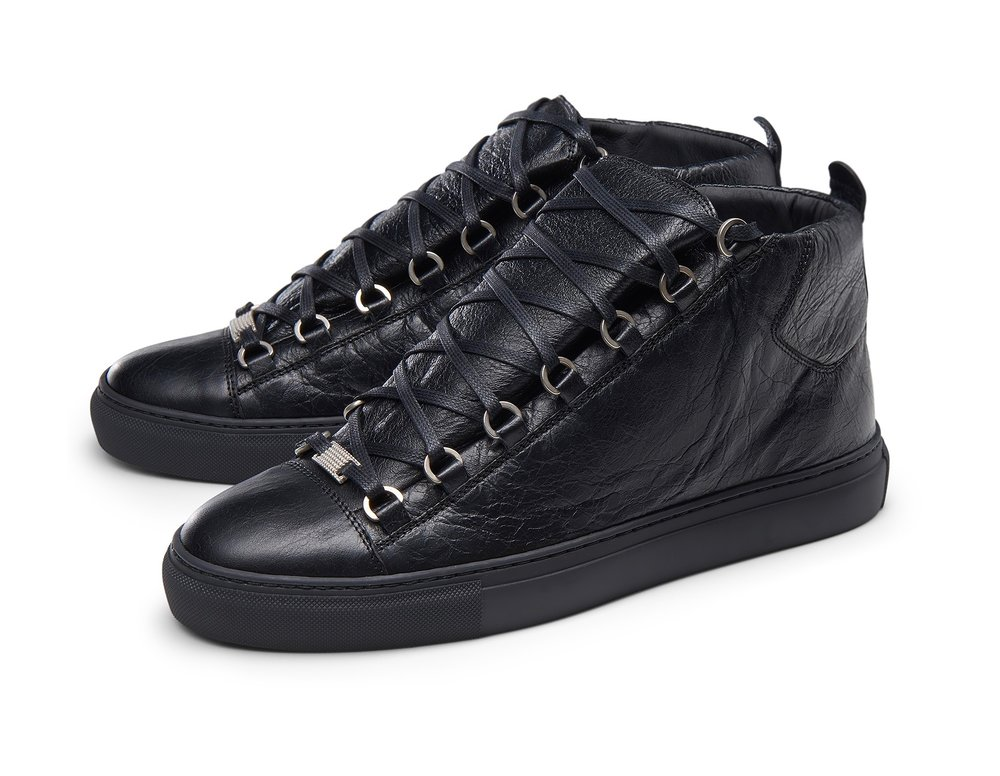 77ad535bb3372 On Sale  Balenciaga Arena Leather High