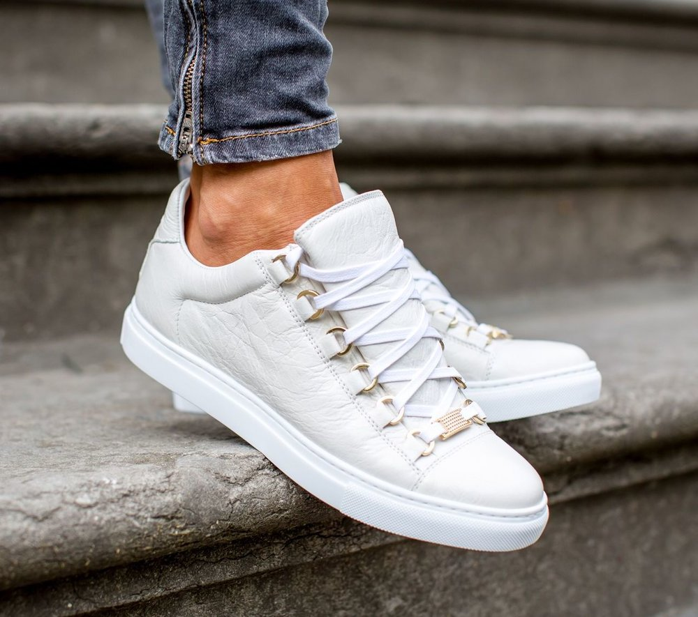 02cfa7ac8 On Sale: Balenciaga Arena Leather Low