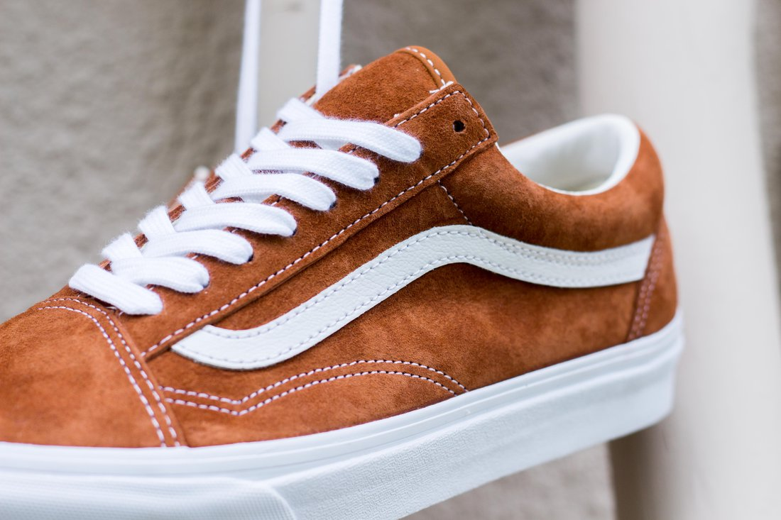 7e77d8952aec Now Available  Vans Old Skool Pigsuede