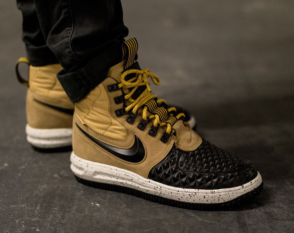 new arrival 4cc90 0148b ... best price on sale nike lunar force 1 duckboot metallic gold u2014  sneaker shouts 0d265 42460