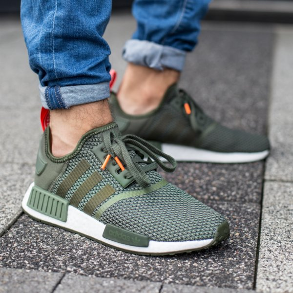 Deportista alquiler Existe  Free shipping > adidas nmd r1 green orange > Up to 69% OFF >
