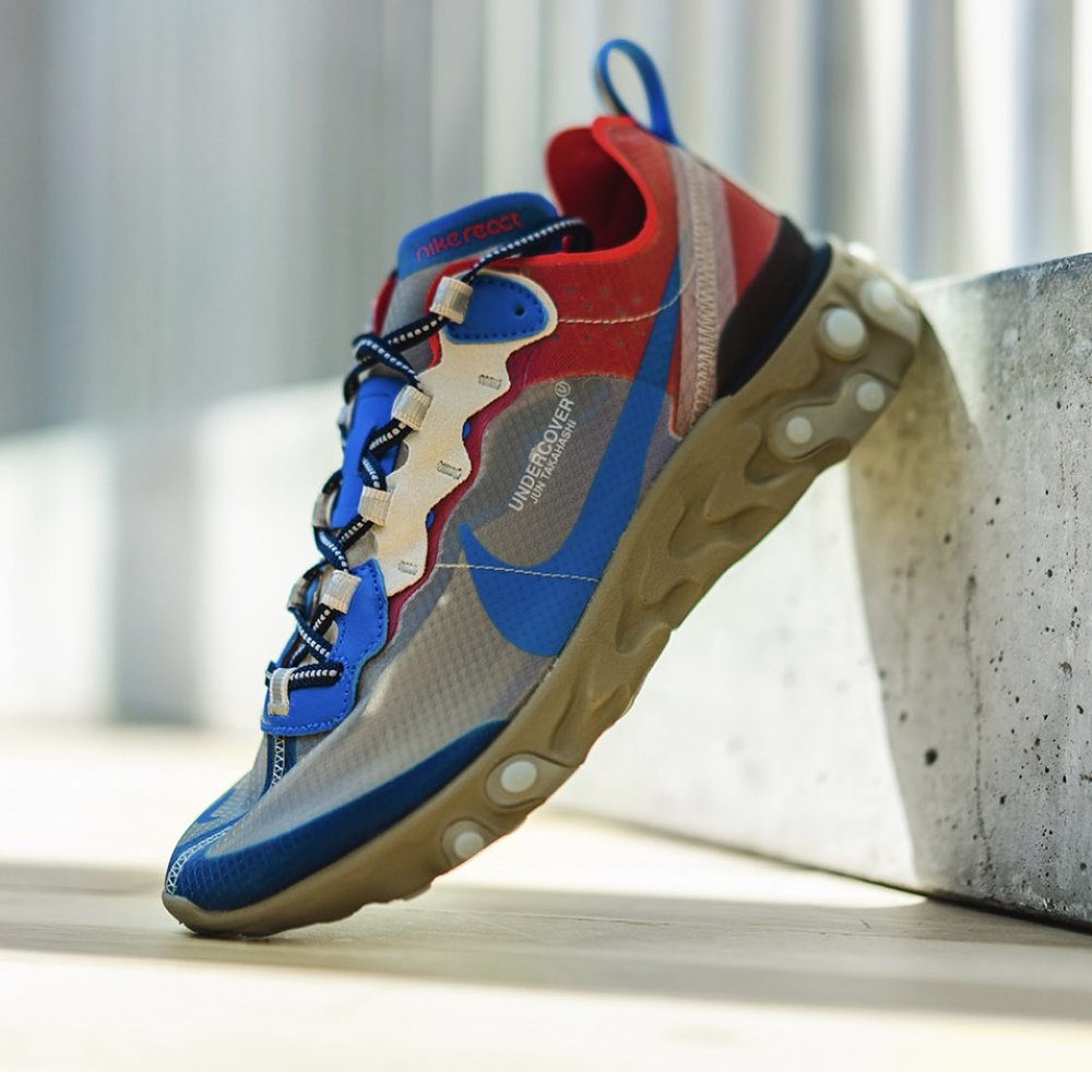 bfaafc5a6e Now Available: Undercover x Nike React Element 87