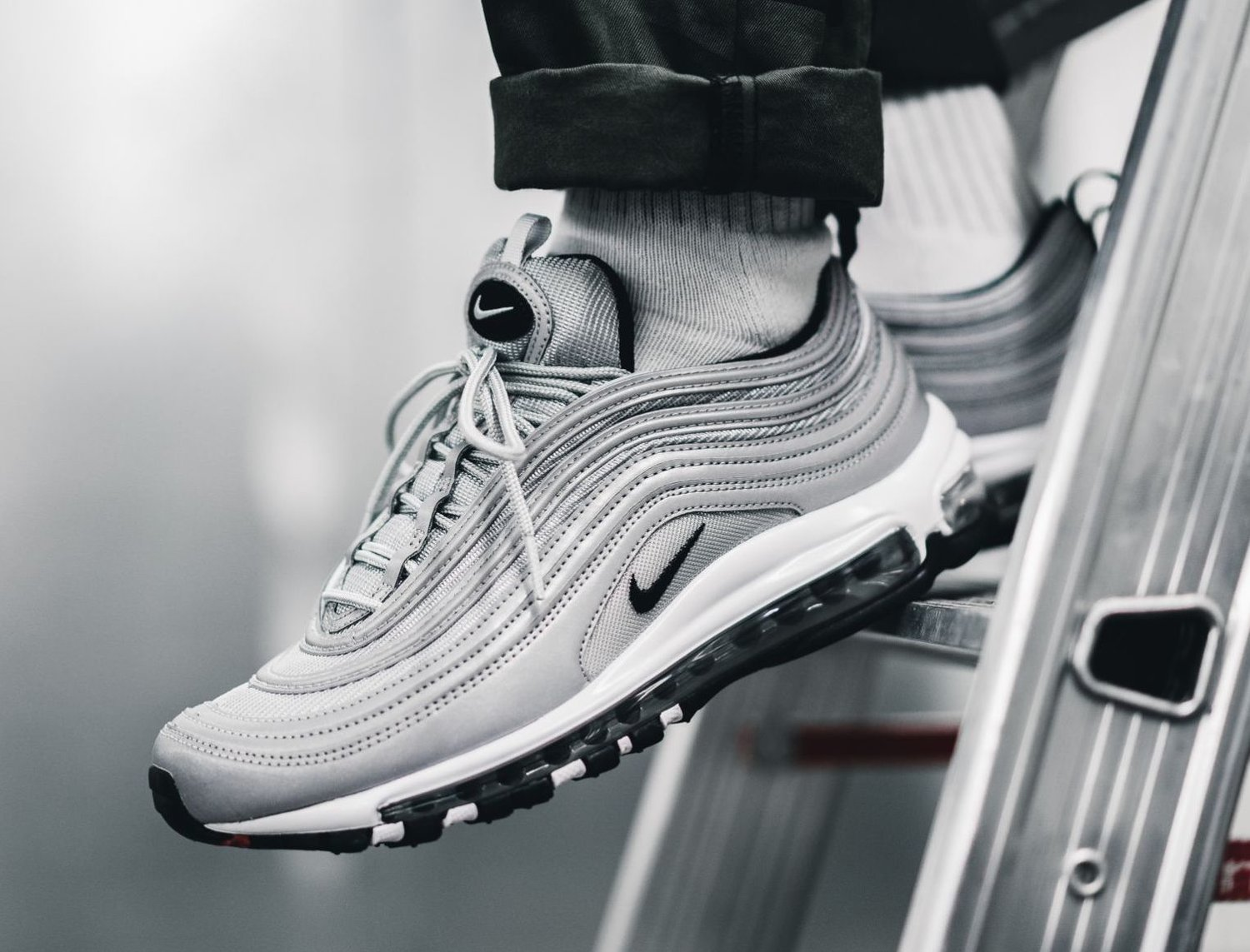 reputable site 27c68 b422c On Sale: Nike Air Max 97 Reflective
