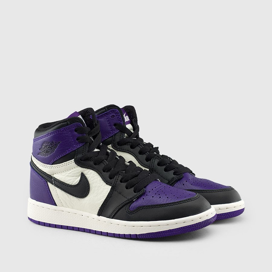 air jordan 1 court purple gs