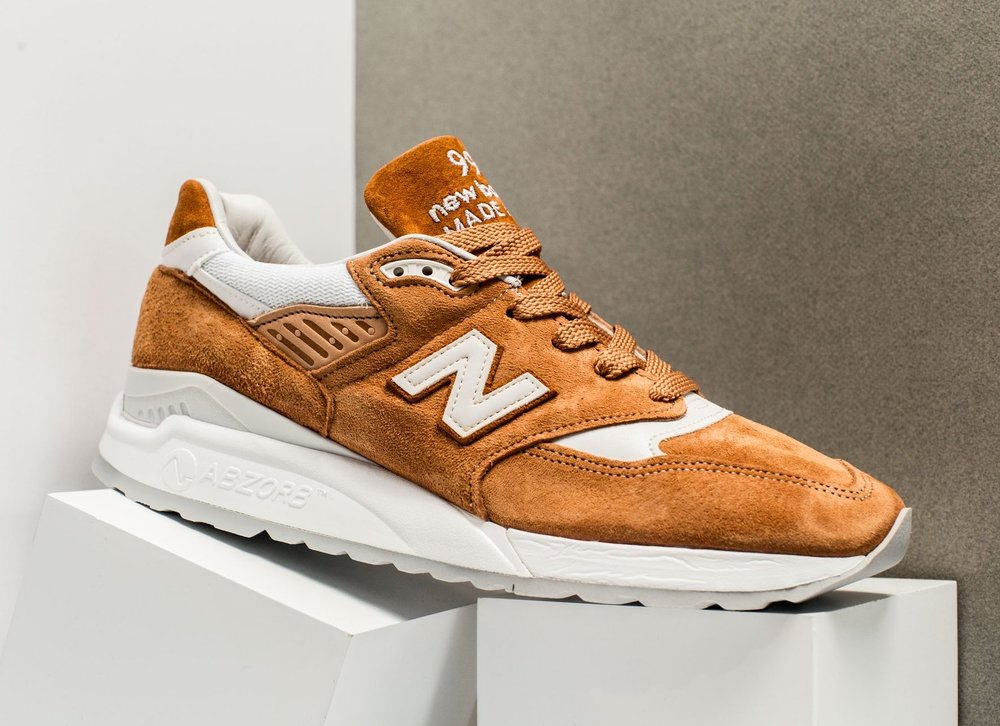 new product b649a 4f6b2 ... wholesale now available new balance 998 brown sugar 4b3bd 4ecc6