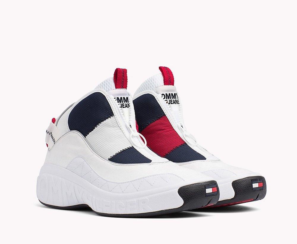 501f21fb3b3 Restock  Tommy Jeans Retro Icon Sneaker in White — Sneaker Shouts
