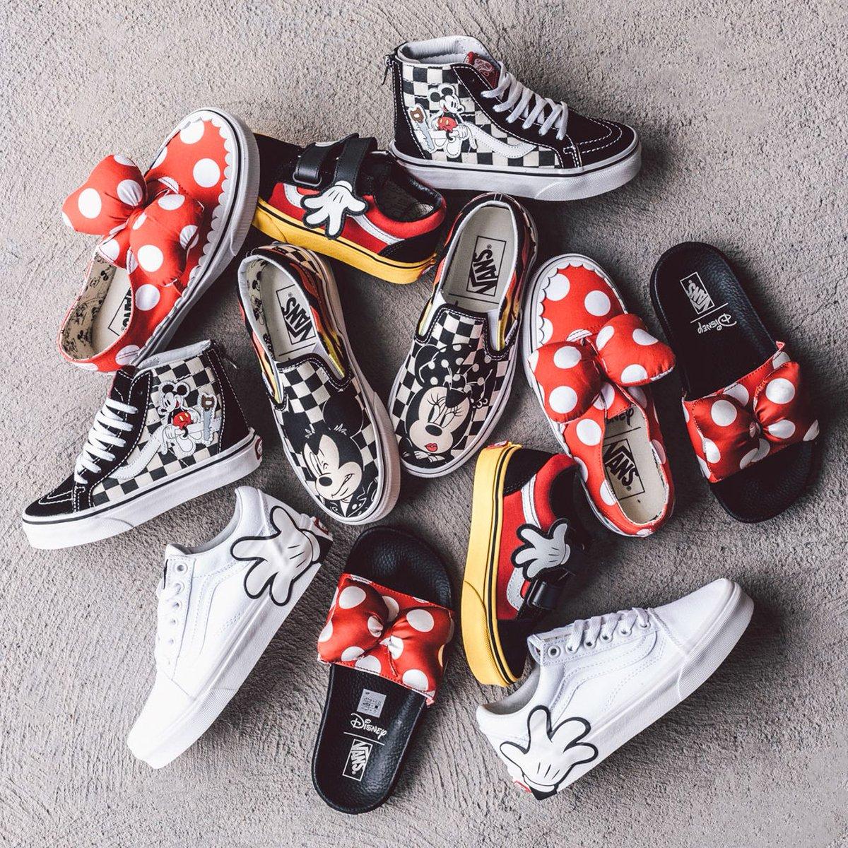 c8daa546c3 On Sale  Disney x Vans Mickey Mouse