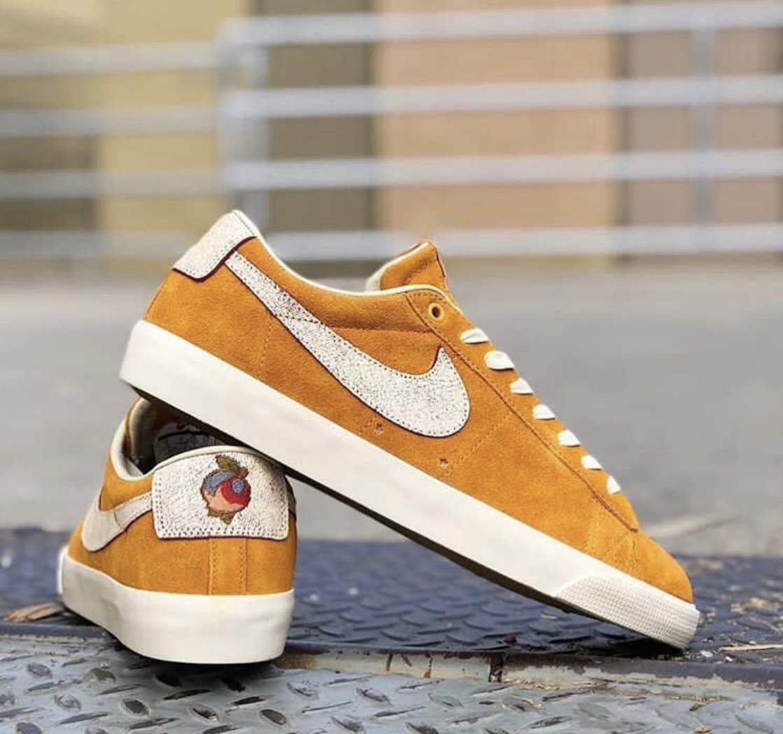the latest 3a5ce 3c5bd Now Available: Grant Taylor x Nike SB Blazer Low GT