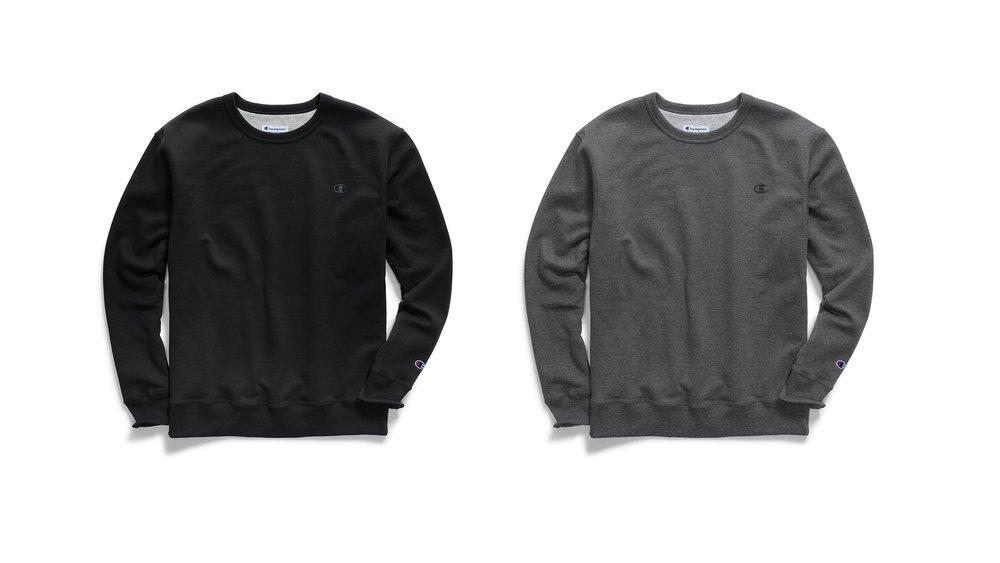 23e95eff9573 On Sale: Champion Powerblend Fleece Sweatshirts — Sneaker Shouts