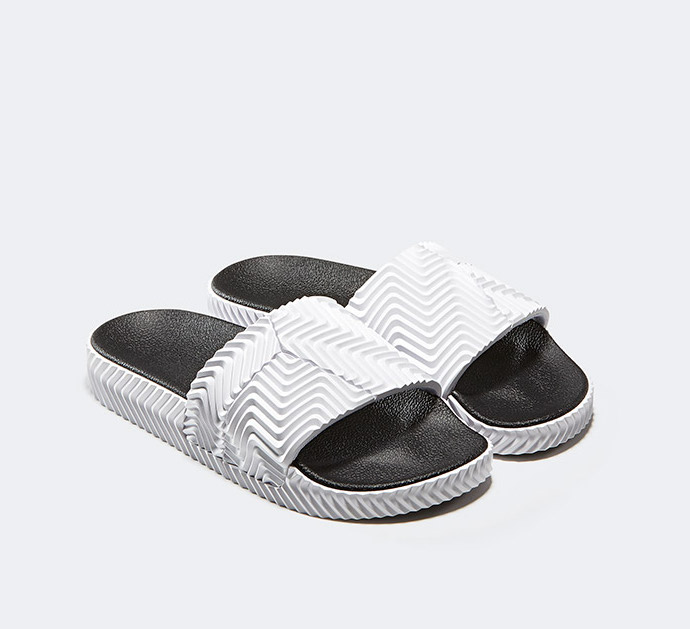 cheap for discount a93c2 88106 On Sale Alexander Wang x adidas Adilette Slides