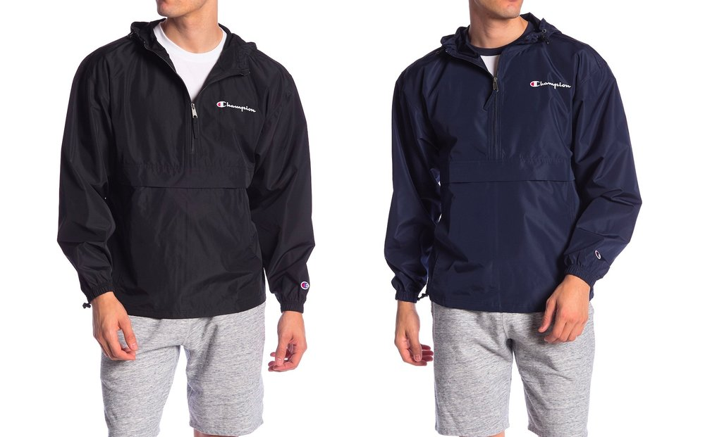 16037390 On Sale: Champion Packable Jacket with Hoodie only $26.97 — Sneaker Shouts