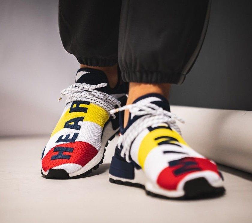 3c99ccd3844e7 Restock  BBC x Pharrell x adidas NMD Hu — Sneaker Shouts