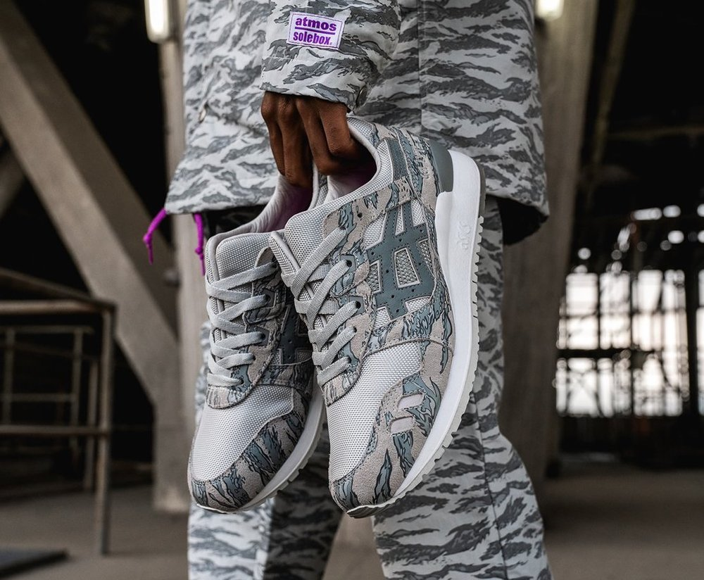Now Available  atmos x Solebox x ASICS Gel Lyte III — Sneaker Shouts f42df825f73b