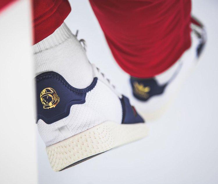 548404ff49c7f Now Available  BBC x Pharrell x adidas Tennis Hu V2 — Sneaker Shouts