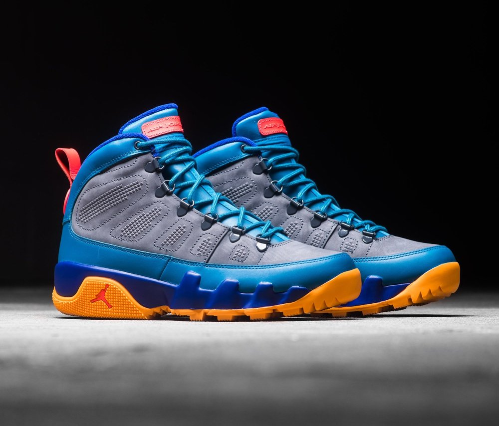 new arrival c65c8 c446e ... germany now available air jordan 9 retro boot nrg green abyss 04bd0  31ebf