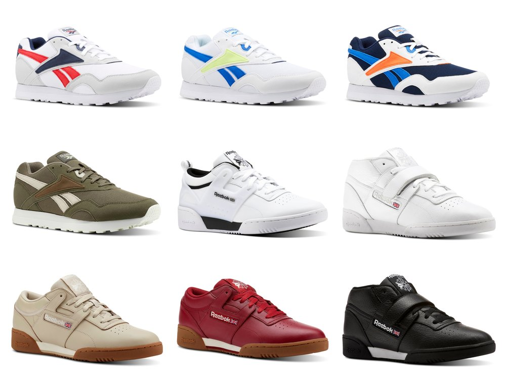 89d84d00627ae Flash Sale  Reebok Classic Footwear Only  29.99 + FREE shipping ...