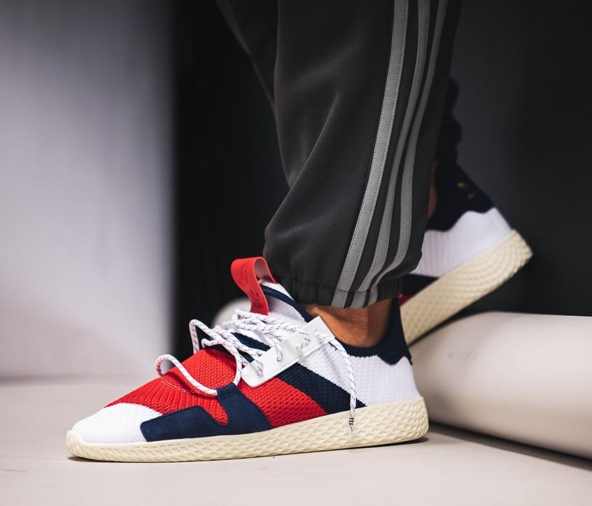 e2a2df8a4f2ef On Sale  BBC x Pharrell x adidas Tennis Hu — Sneaker Shouts