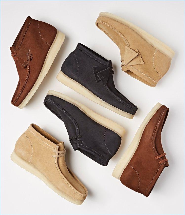 821b7c577c8 On Sale  Barneys New York x Clarks Wallabee Boots