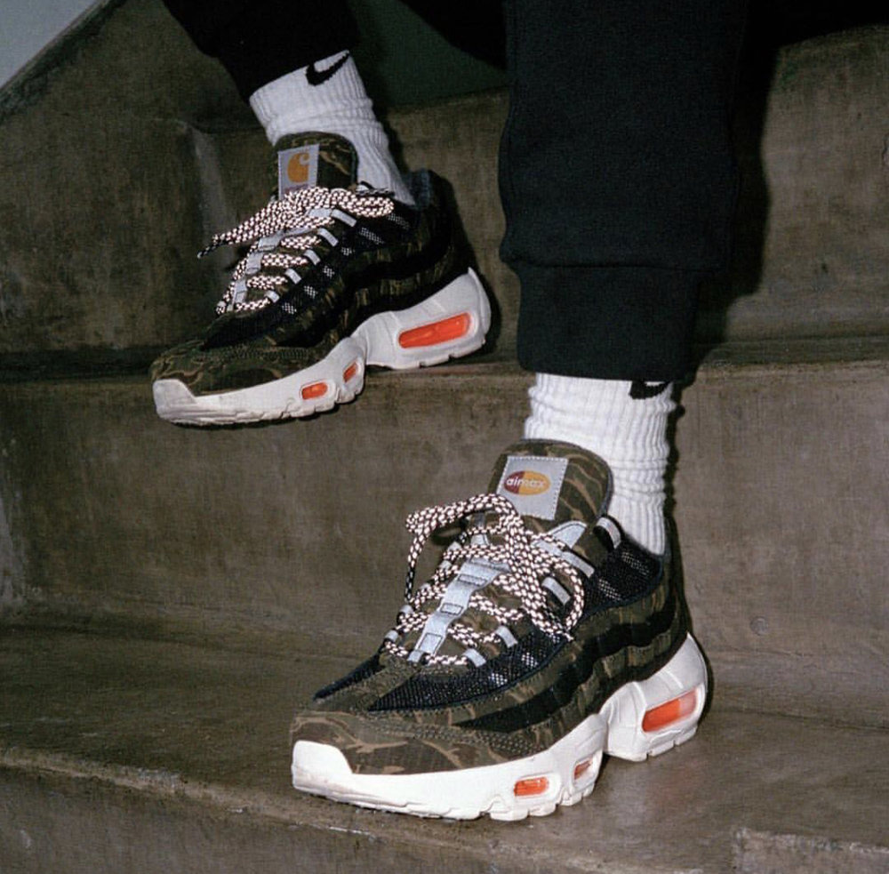 fe87a1a9897 Now Available  Carhartt WIP x Nike Air Max 95