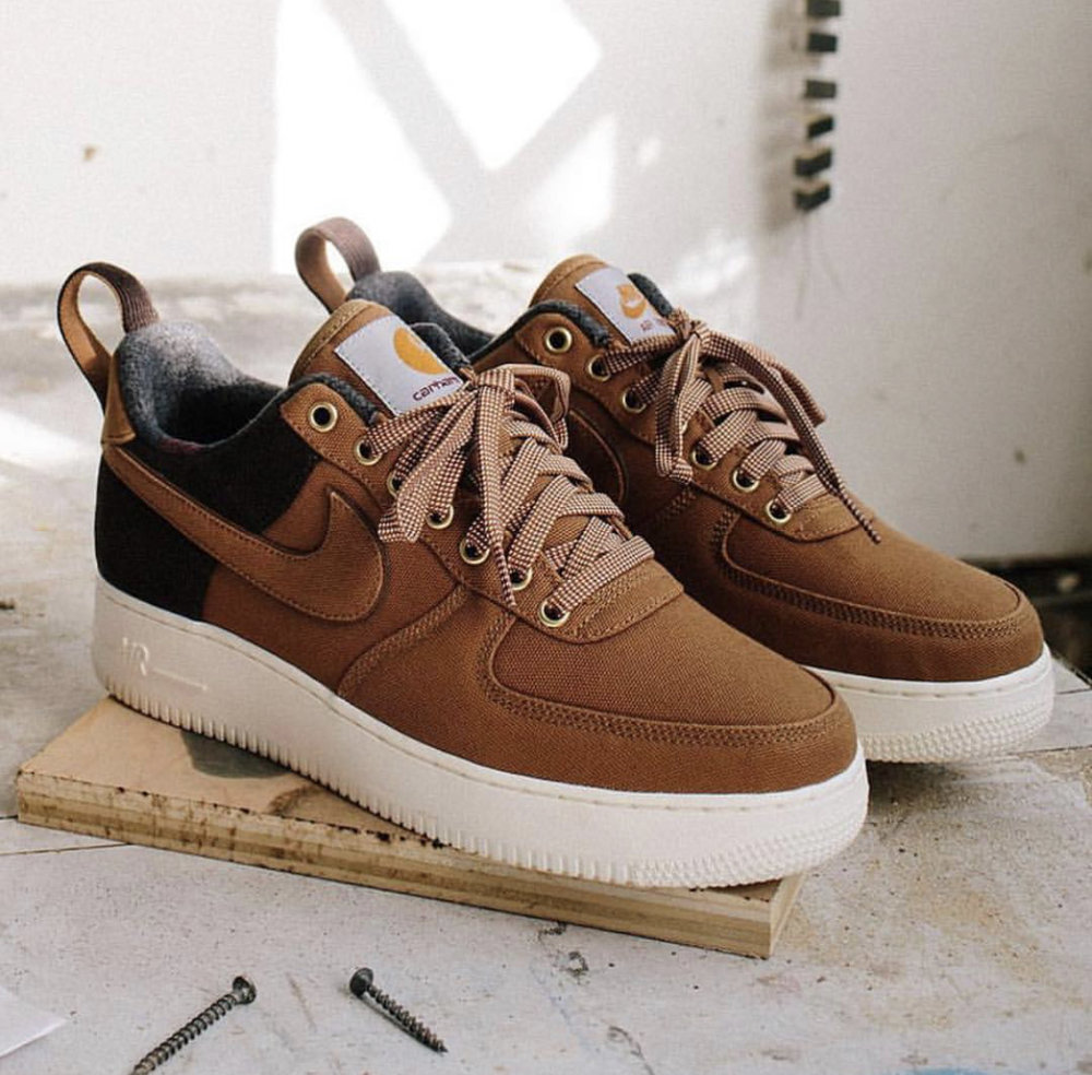sports shoes fe448 1d89f Now Available  Carhartt WIP x Nike Air Force 1 Low