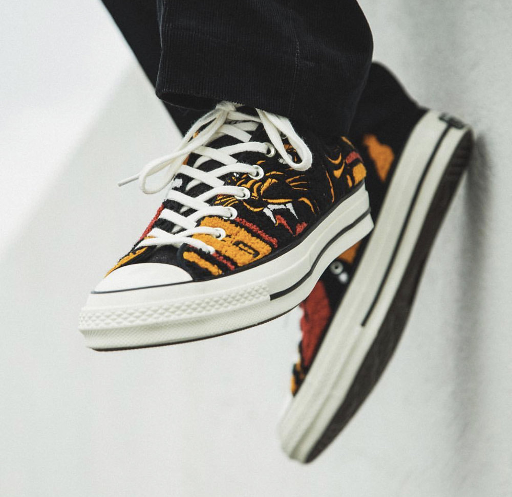 b6388b6a8115 Now Available  Undefeated x Converse Chuck 70s