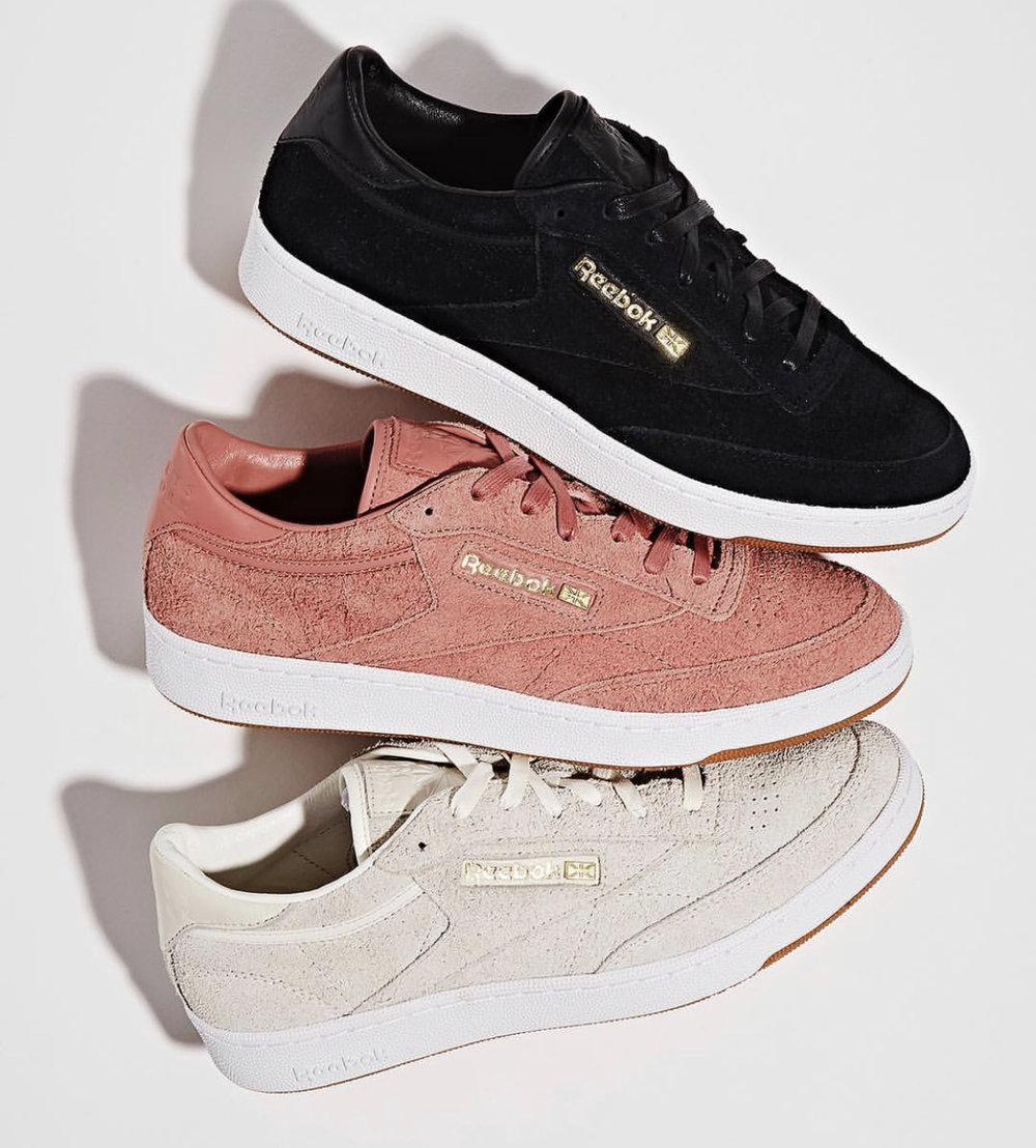 2d05afb8adbb2c On Sale  Barneys New York x Reebok Club C 85 Suede — Sneaker Shouts