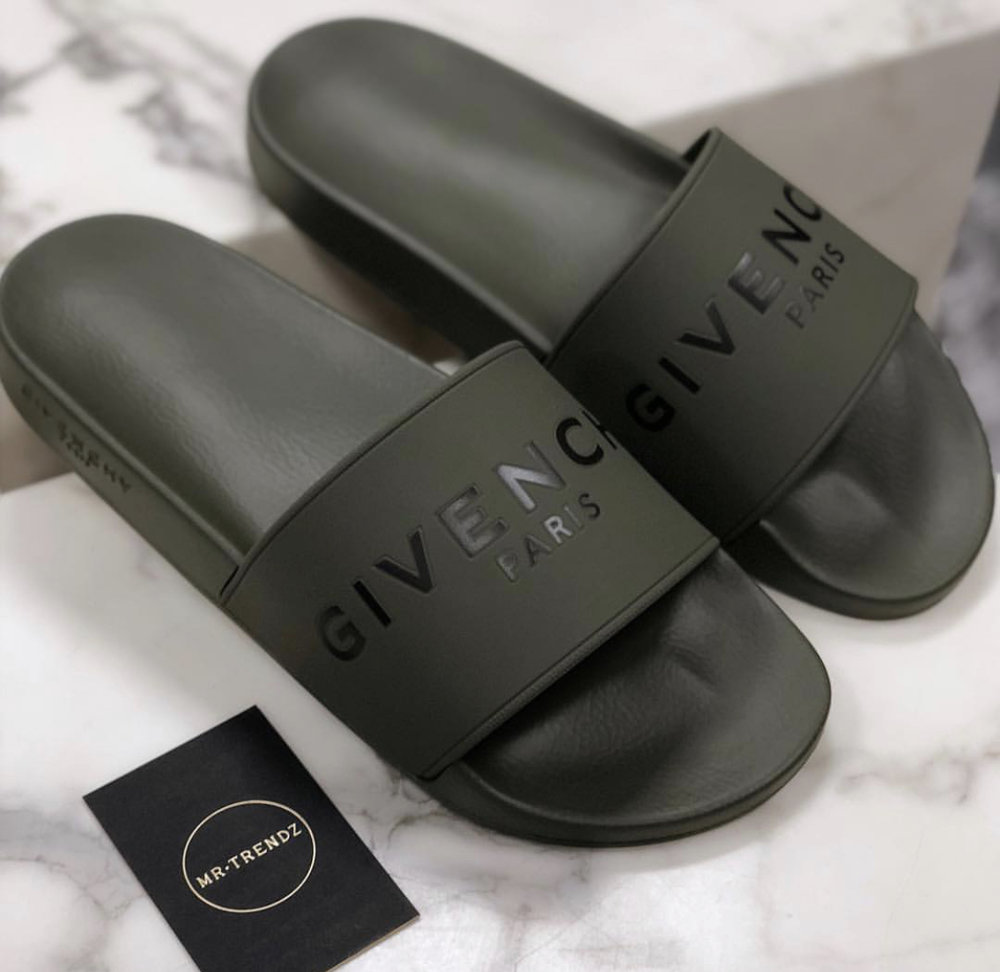 c26360b34a24 On Sale  Givenchy Logo Slides in