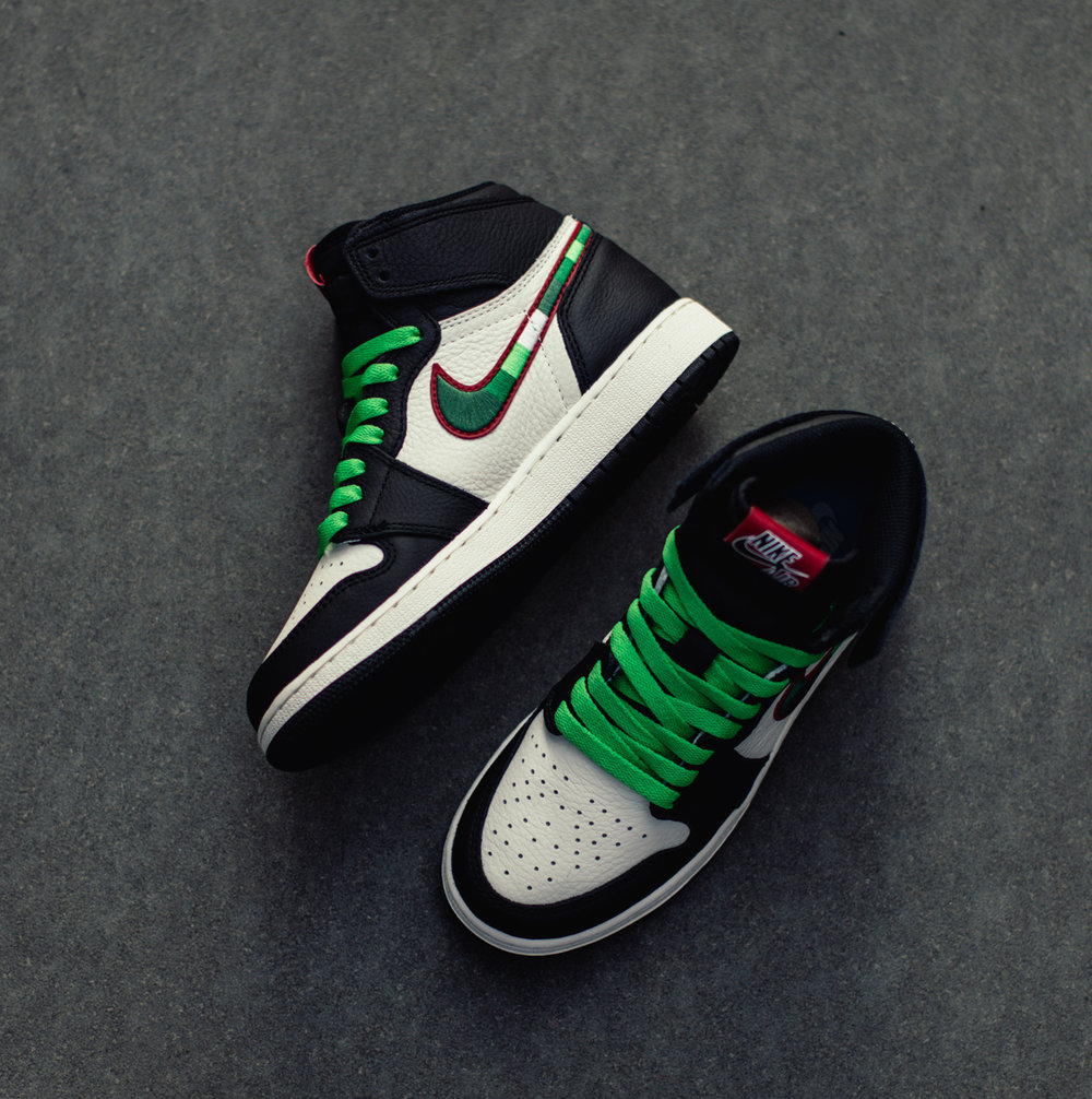4e8289f2c99 Now Available  GS Air Jordan 1 High Retro OG