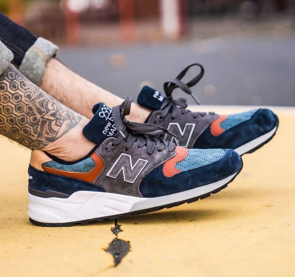 new balance 999 uomo navy