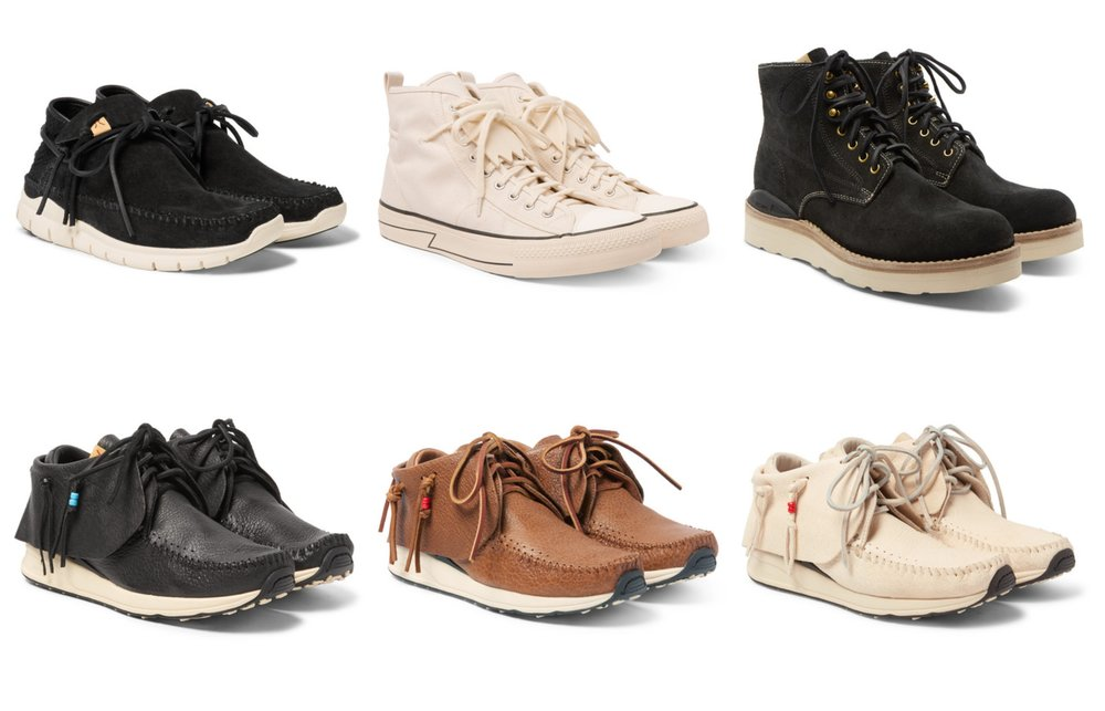 f901605290fe3 On Sale  Up to 50% OFF select Visvim Footwear — Sneaker Shouts