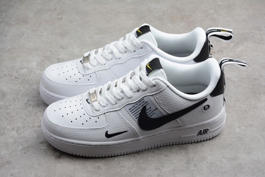 best sneakers fdd40 d3866 Nike-Air-Force-1-07-Utility-White-Black-