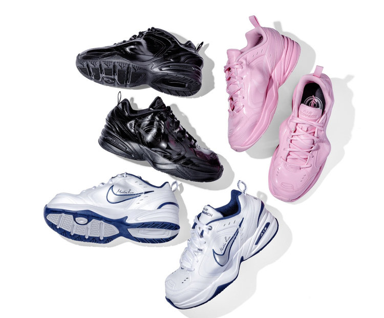 ab9b9d6e3b834 Now Available  Martine Rose x NikeLab Air Monarch IV