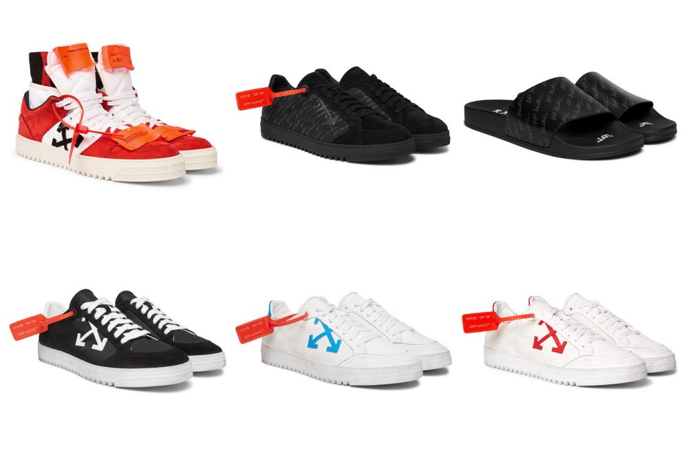 82552f813eff2 Now Available  Mr. Porter x Off-White Exclusive Footwear — Sneaker ...
