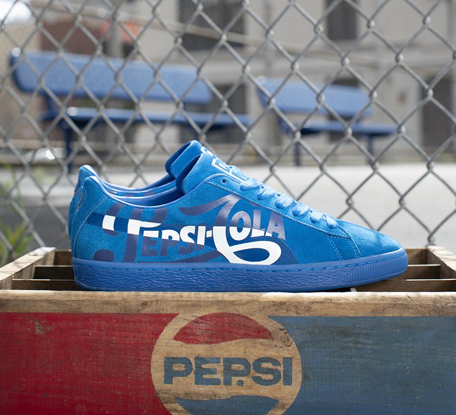 On Sale: Pepsi x Puma Suede Classic in