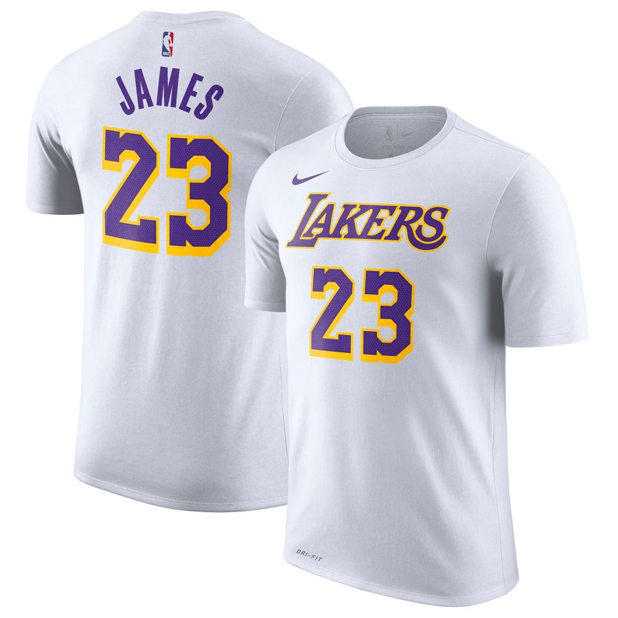 best cheap 579c5 2a7f0 On Sale: Nike NBA LeBron James Lakers Jersey Tee — Sneaker ...