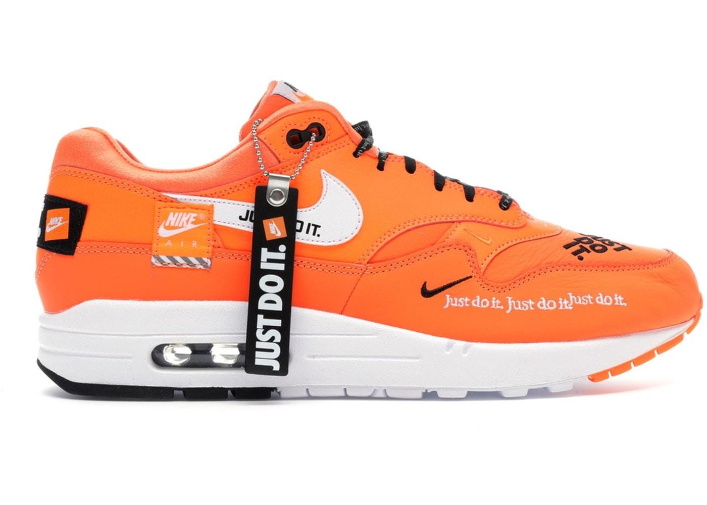 Gracias demasiado Tomate  On Sale: Nike Air Max 1 Just Do It