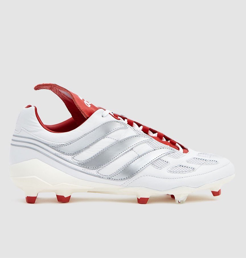 new concept 0ca0c 3099b On Sale  David Beckham x adidas Predator FG Cleats in Silver