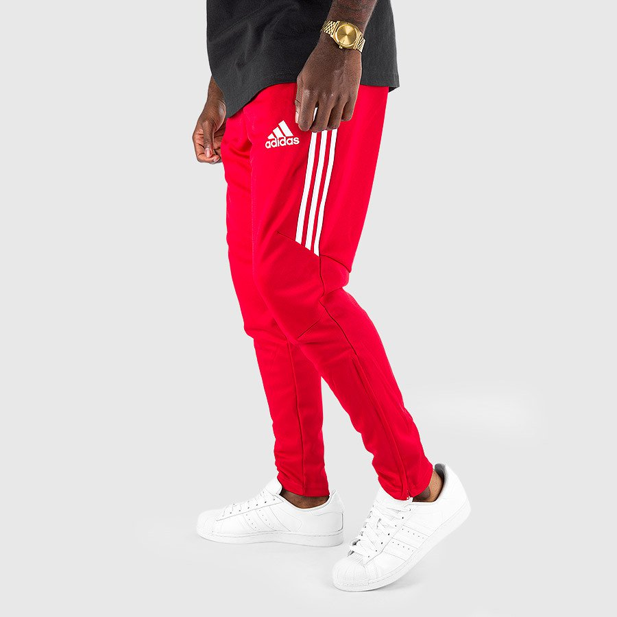 8217b638ddd3 On Sale  adidas Tiro 17 Tapered Pants in Red — Sneaker Shouts