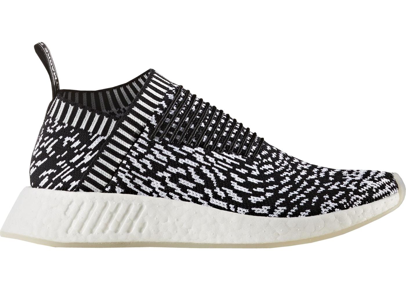 Adidas adidas NMD Cs2 Sneaker In Black Shashiko Knit in 2019