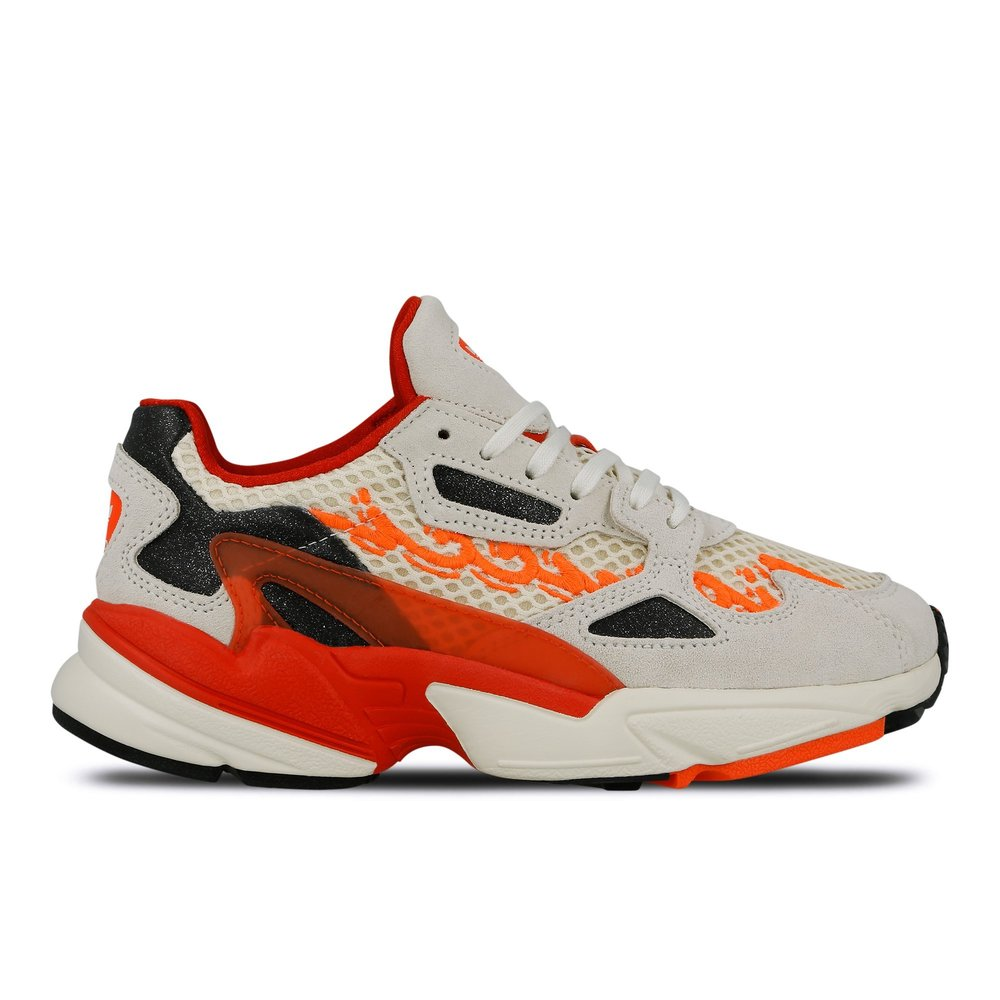bbd52e940600 Clearance Sale via Finishline · Now Available  Fiorucci x adidas Falcon  Runner W