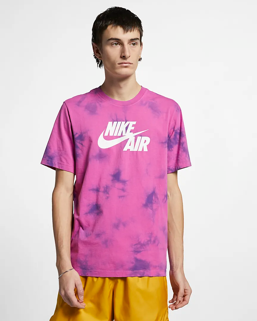 4240d31c1 Now Available  Nike Air Tie Dye T-shirts — Sneaker Shouts