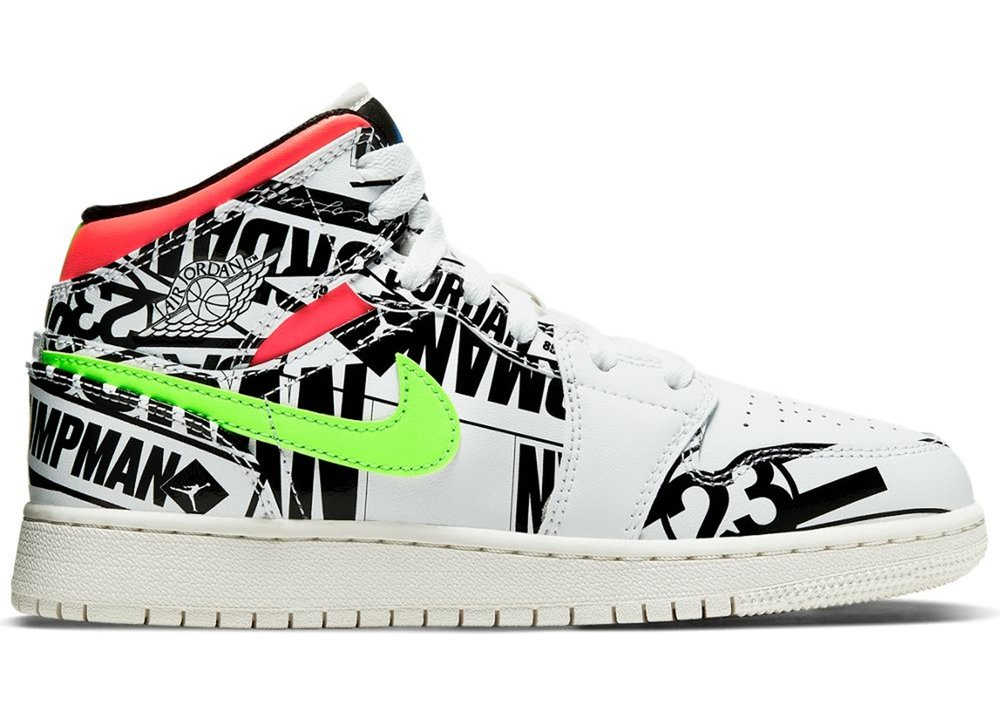 9f4c8d6daff33f Now Available  GS Air Jordan 1 Mid