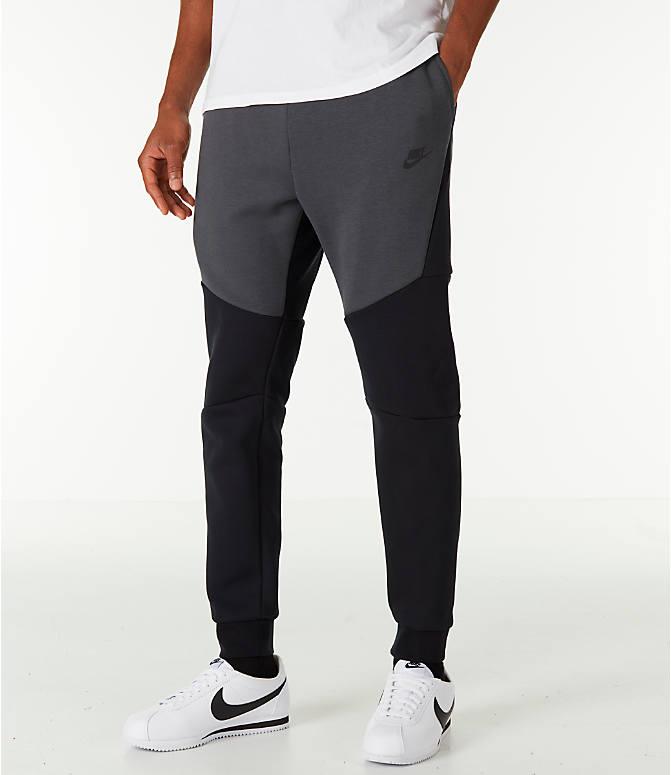 On Sale Nike Tech Fleece Joggers Black Grey Sneaker Shouts