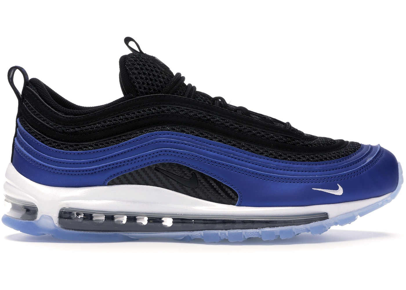 High Quality Nike Air Max 97 Ultra 17 Blue White Black Sneakers Men's Running Shoes #SE004370