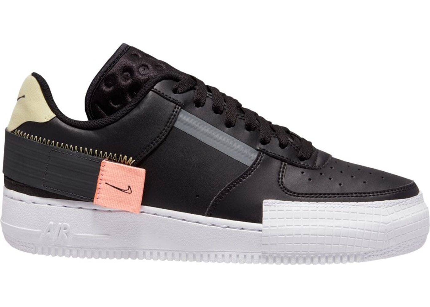Nike Air Force 1 Low Type All Black