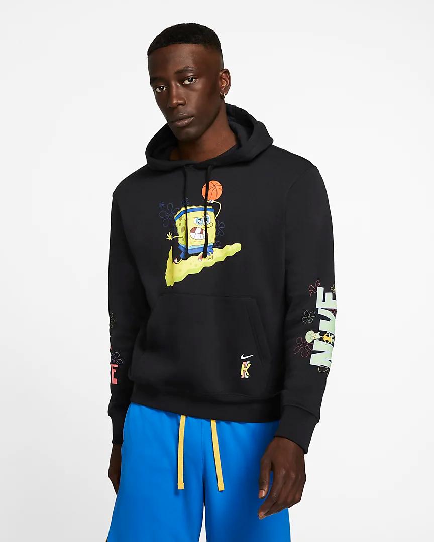 Now Available: Spongebob x Nike Kyrie Apparel — Sneaker Shouts