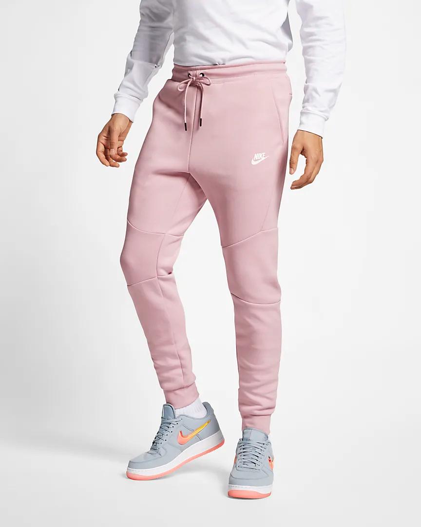 On Sale Nike Tech Fleece Joggers Plum Chalk Sneaker Shouts