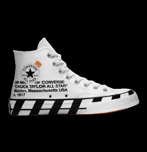 544b9dcc12309e Restock  Off-White x Converse Chuck 70s Hi
