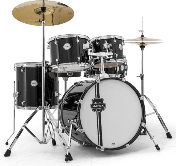 Mapex Voyager 5 Piece Drum Set With Cymbals Hardware Doo Wop Shop